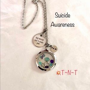 Jewelry - Suicide Awareness Waterproof Living Locket